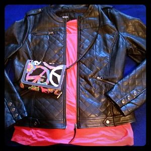 Soft&Supple Vegan Leather Jacket